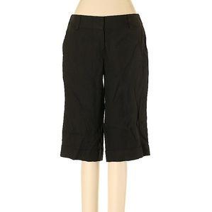 Trina Turk Black Half Length Dress Pants